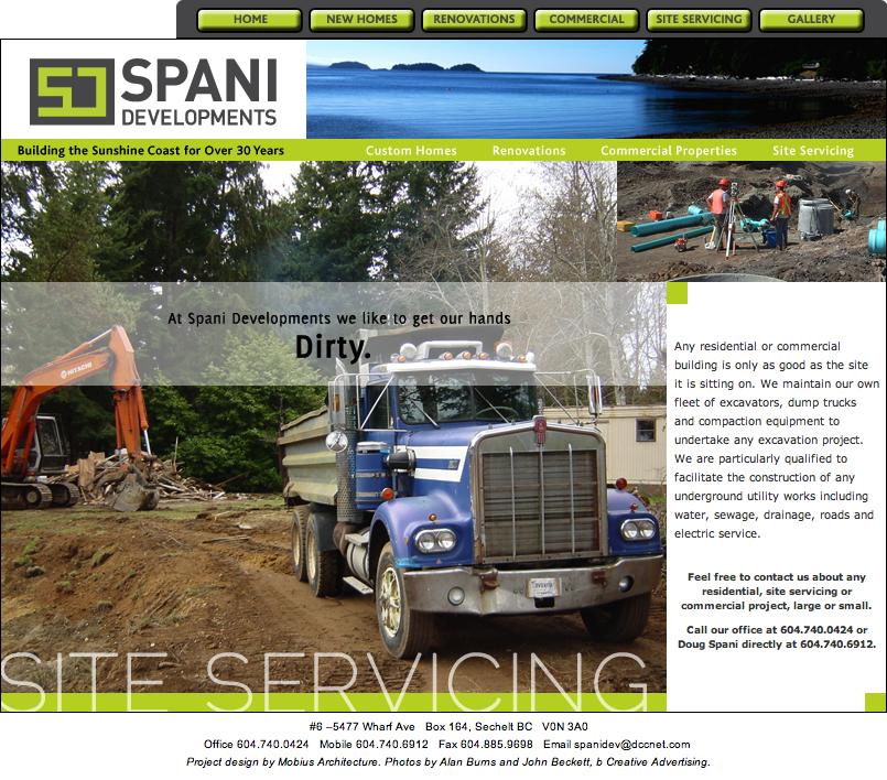 site servicing